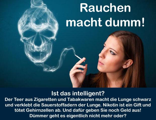 Die schädlichen Gewohnheiten das Rauchen und die Rauschgiftsucht